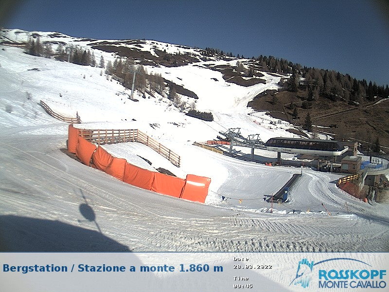 Monte Cavallo mountain station
